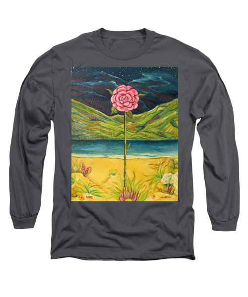 A Secret Romance Long Sleeve T-Shirt by John Keaton