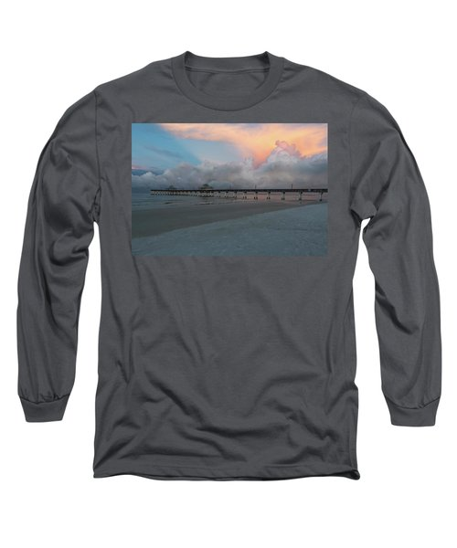 Long Sleeve T-Shirt featuring the photograph A Serene Morning by Kim Hojnacki