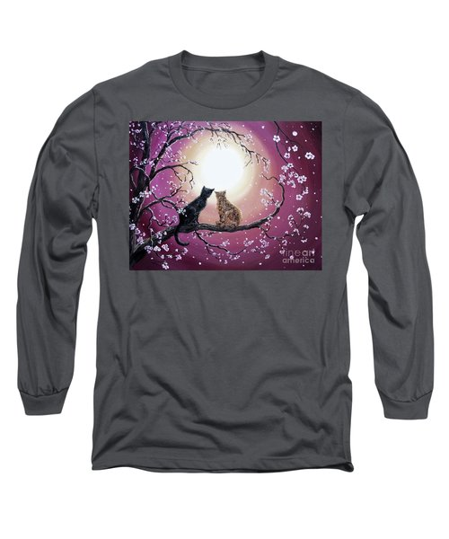 A Shared Moment Long Sleeve T-Shirt by Laura Iverson