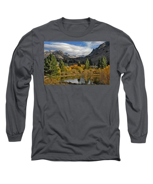 A Sierra Mountain View Long Sleeve T-Shirt