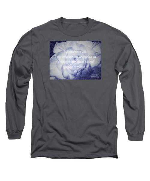 A Sigh In The Darkness Long Sleeve T-Shirt