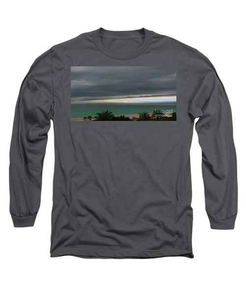 A Sliver Of Hope Long Sleeve T-Shirt by Mariarosa Rockefeller