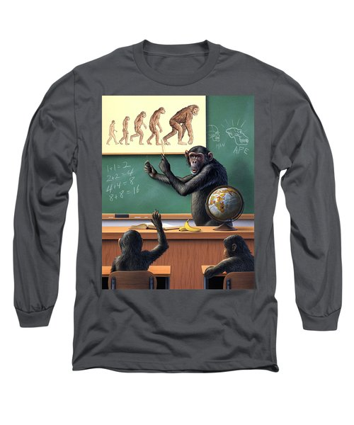 A Specious Origin Long Sleeve T-Shirt by Jerry LoFaro