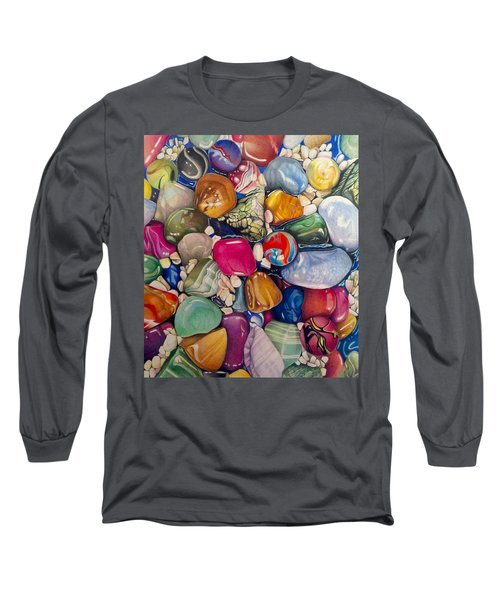 A Splash Of Color And Hardness Long Sleeve T-Shirt