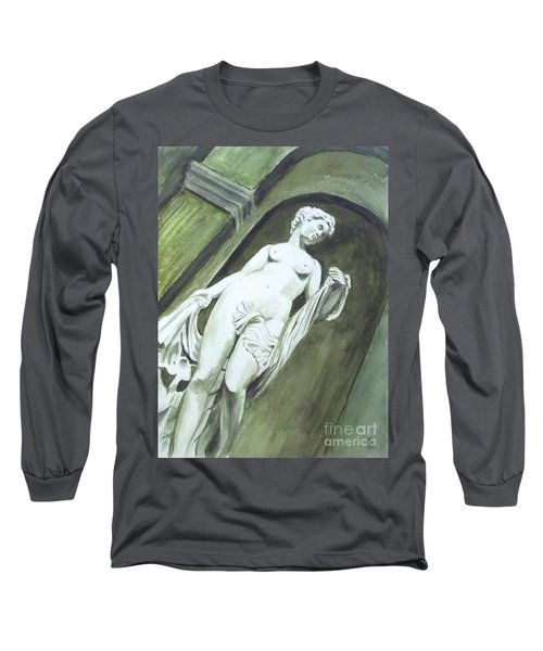 A Statue At The Toledo Art Museum - Ohio Long Sleeve T-Shirt