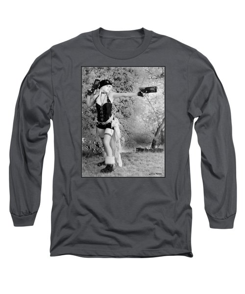 A Steam Punk Heroine Long Sleeve T-Shirt