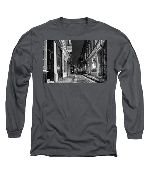 A Step Back In Time Long Sleeve T-Shirt by David  Hollingworth