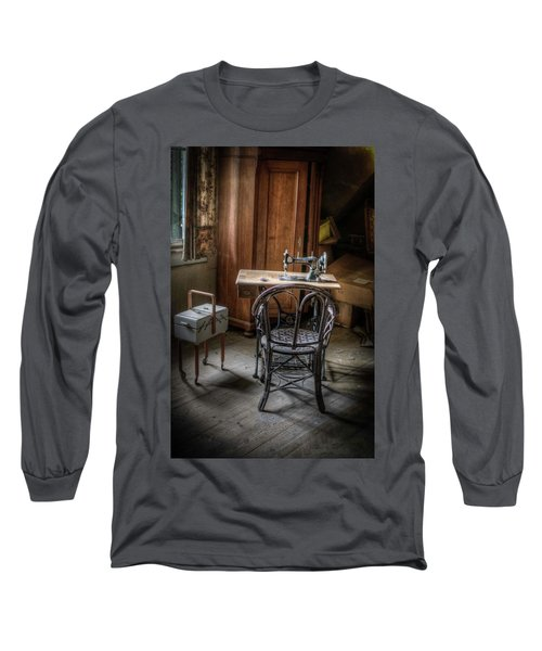 A Stitch In Time Long Sleeve T-Shirt by Nathan Wright