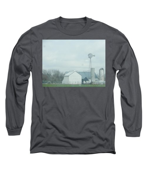 A Storm Moves In Long Sleeve T-Shirt