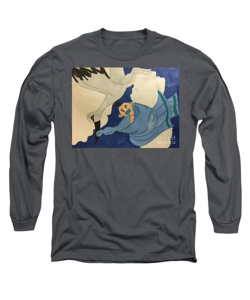 A Stroke  Long Sleeve T-Shirt