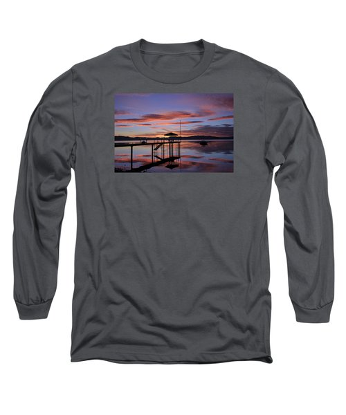 Long Sleeve T-Shirt featuring the photograph A Sunrise To Wake The Dead  by Sean Sarsfield