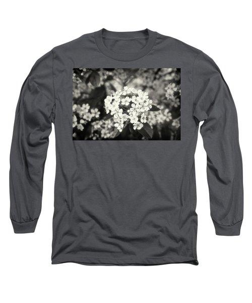 A Thousand Blossoms Sepia 3x2 Long Sleeve T-Shirt