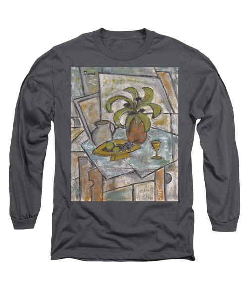 A Toast To Tranquility Long Sleeve T-Shirt by Trish Toro