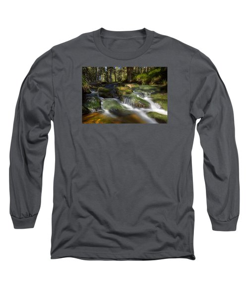 A Touch Of Light Long Sleeve T-Shirt by Andreas Levi