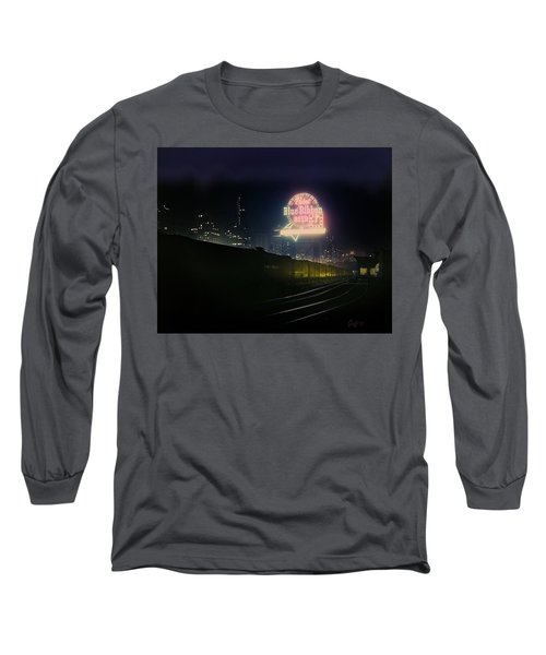 A Train's A Comin' 1948 Long Sleeve T-Shirt by J Griff Griffin