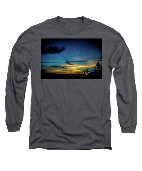 A Trucker's View Long Sleeve T-Shirt
