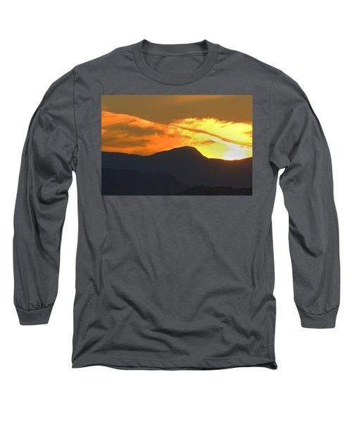 A Vancouver Sunset Long Sleeve T-Shirt