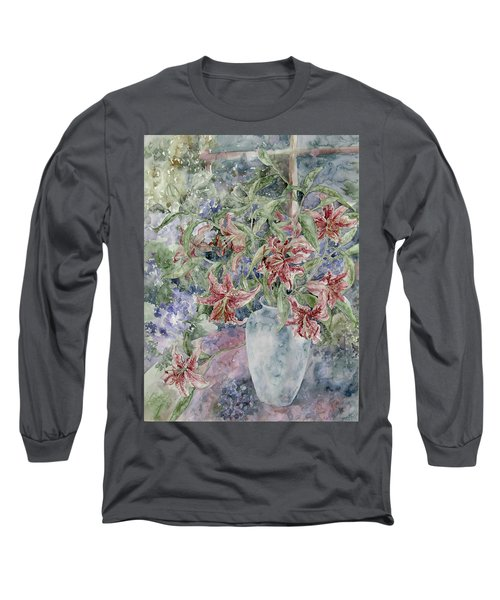 A Vase Of Lilies Long Sleeve T-Shirt