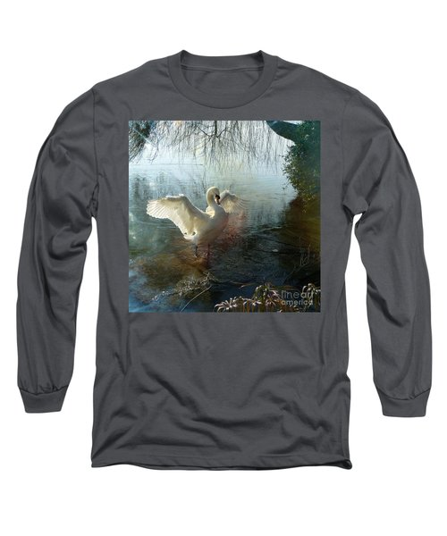 A Very Fine Swan Indeed Long Sleeve T-Shirt