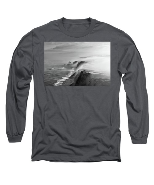 A View Of Gods Long Sleeve T-Shirt by Jorge Maia