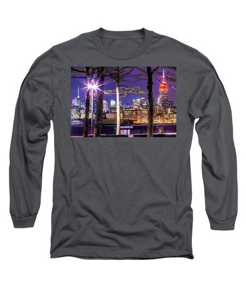A View To Behold Long Sleeve T-Shirt by Az Jackson