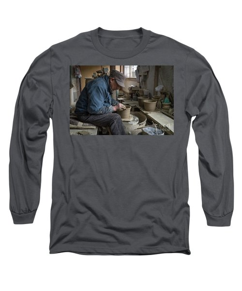 A Village Pottery Studio, Japan Long Sleeve T-Shirt