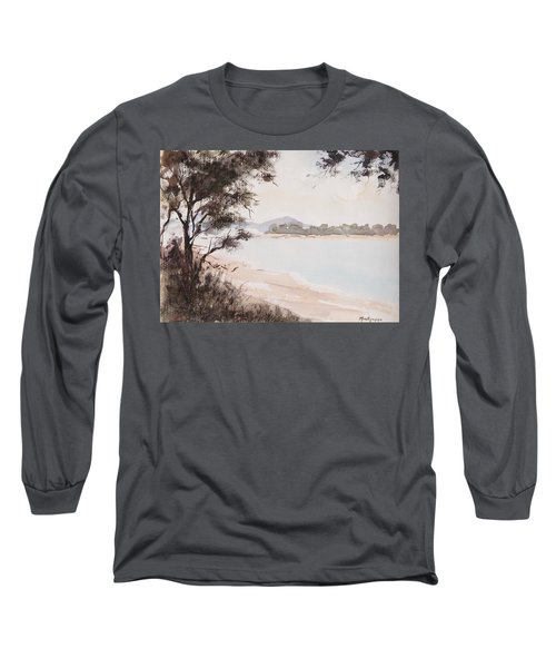 A Walk Along The Riverside Long Sleeve T-Shirt
