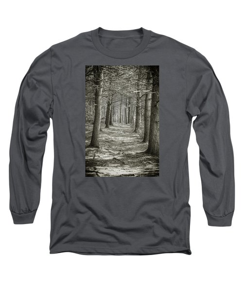 A Walk In Walden Woods Long Sleeve T-Shirt