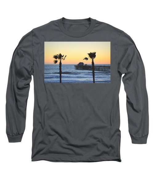 Long Sleeve T-Shirt featuring the photograph A Warmer Place To Be by AJ Schibig