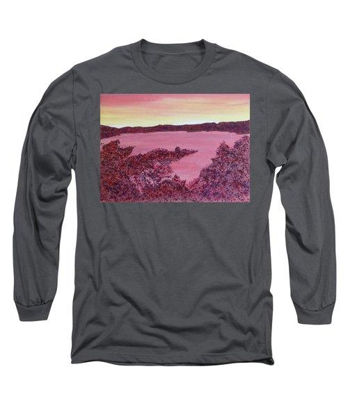 Long Sleeve T-Shirt featuring the painting A Wee Bit O Heaven  by Joel Deutsch