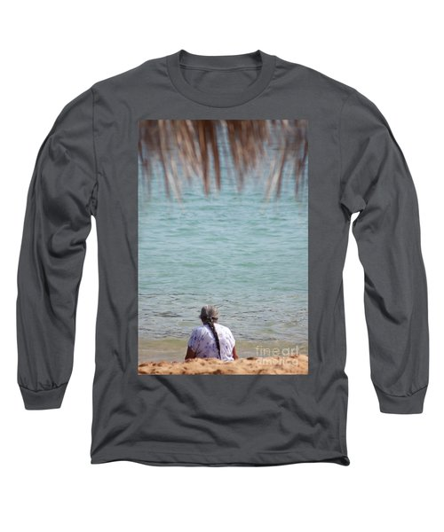 A Window With A View Long Sleeve T-Shirt