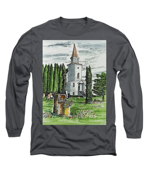 Long Sleeve T-Shirt featuring the painting A Wisconsin Beauty by Terry Banderas