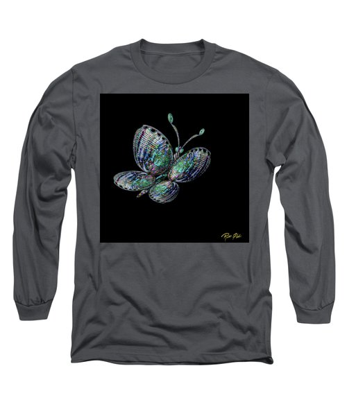 Long Sleeve T-Shirt featuring the photograph Abalonefly by Rikk Flohr