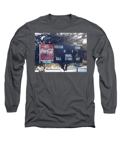 Abandoned Score Board Long Sleeve T-Shirt
