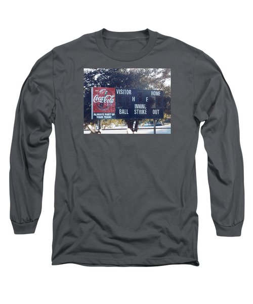 Abandoned Score Board Long Sleeve T-Shirt