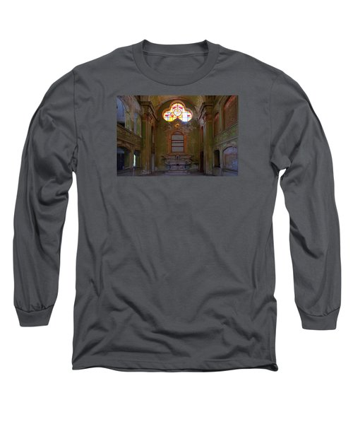 Abandoned Chapel Of An Important Liguria Family I - Cappella Abbandonata Di Famiglia Ligure 1 Long Sleeve T-Shirt
