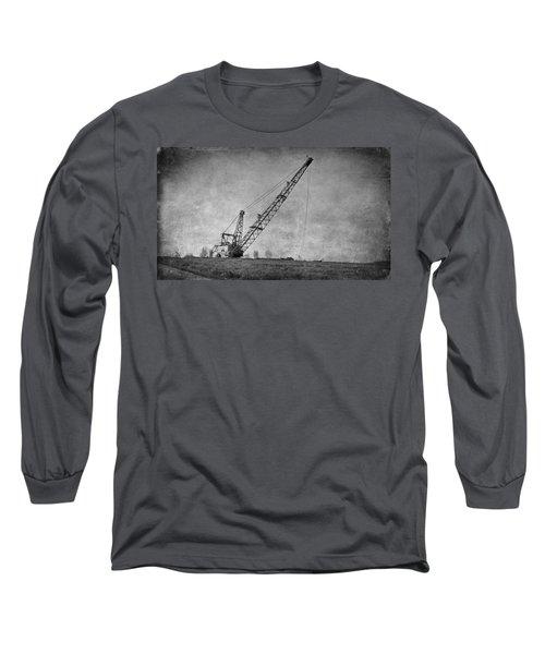 Abandoned Dragline Long Sleeve T-Shirt