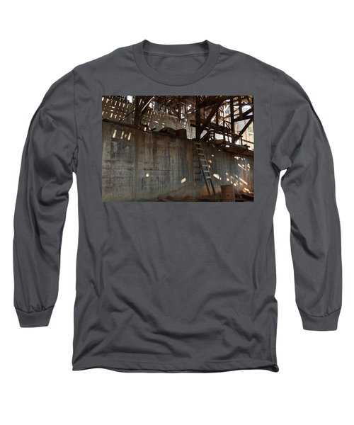 Long Sleeve T-Shirt featuring the photograph Abandoned by Fran Riley