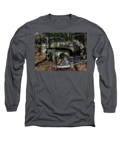Long Sleeve T-Shirt featuring the photograph Abandoned In Helvetia by Trey Foerster