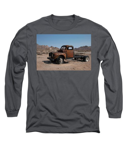 Abandoned In Rhyolite Long Sleeve T-Shirt