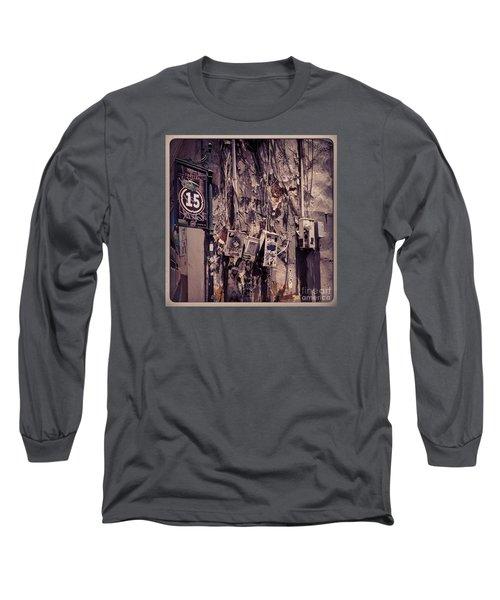 Abandoned Puerto Rico Long Sleeve T-Shirt