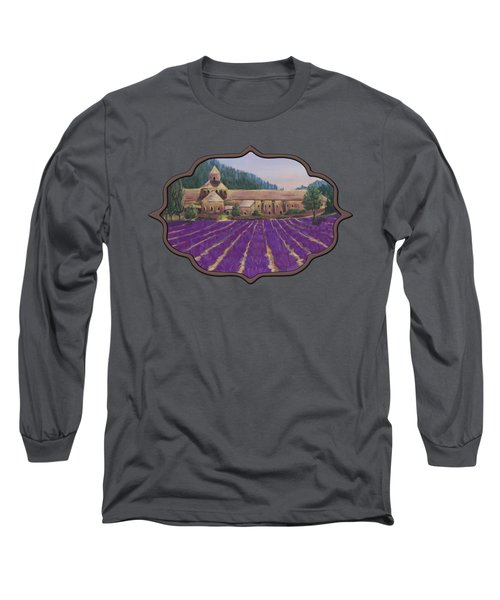 Abbaye Notre-dame De Senanque Long Sleeve T-Shirt
