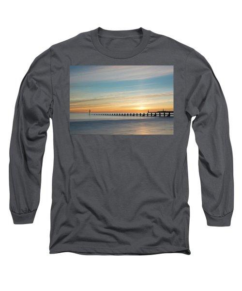 Aberdeen Beach Sunrise Long Sleeve T-Shirt