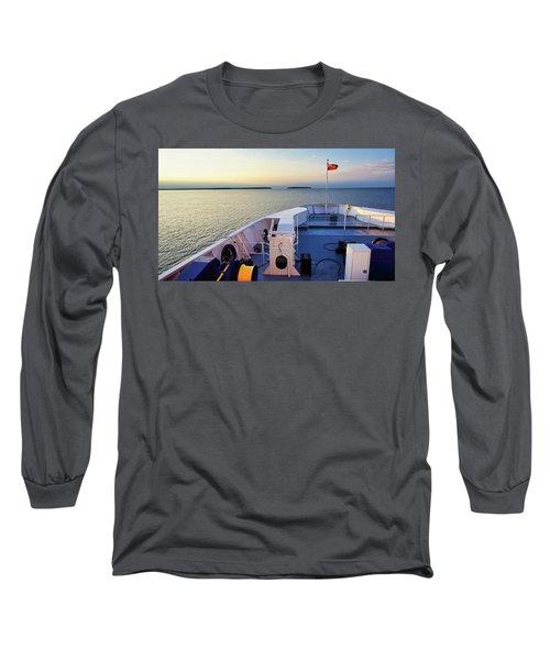 Aboard The Chi-cheemaun Long Sleeve T-Shirt