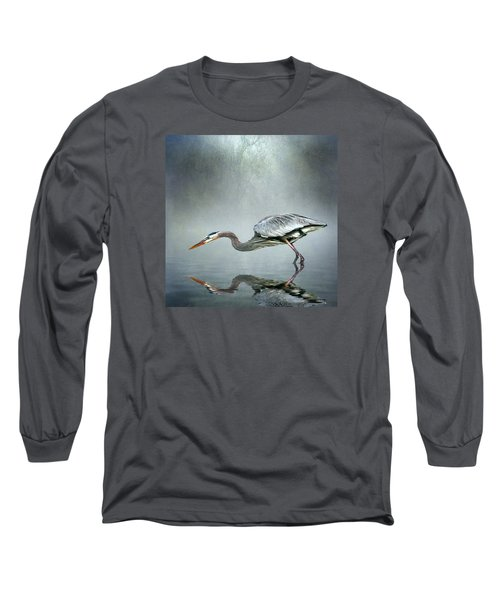 Long Sleeve T-Shirt featuring the photograph About To Strike by Brian Tarr