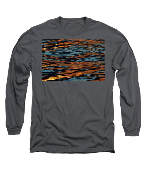 Above And Below The Waves  Long Sleeve T-Shirt by Lyle Crump