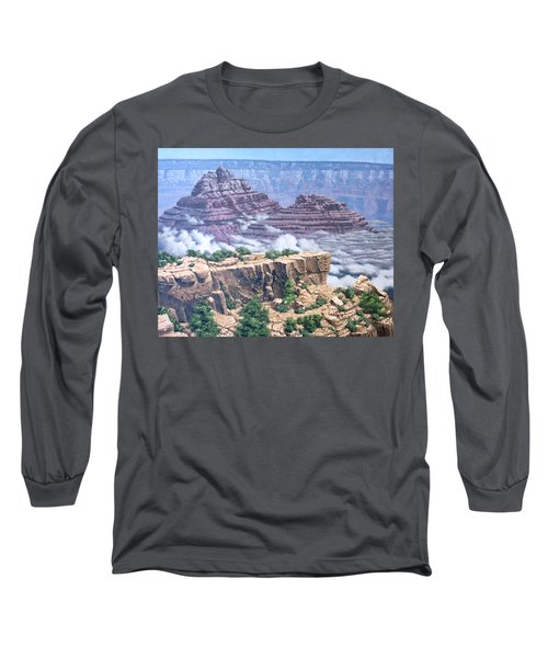 Above The Clouds Grand Canyon Long Sleeve T-Shirt