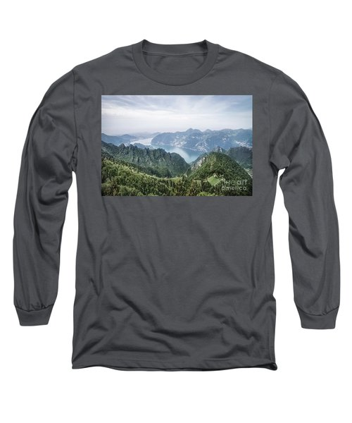 Above The Silver Lake Long Sleeve T-Shirt
