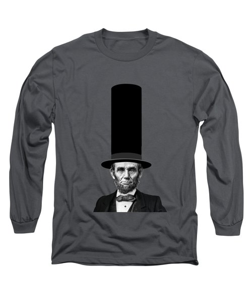 Abraham Lincoln Presidential Fashion Statement Long Sleeve T-Shirt by Garaga Designs