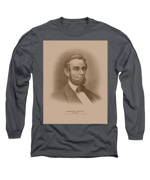 Abraham Lincoln - Savior Of His Country Long Sleeve T-Shirt